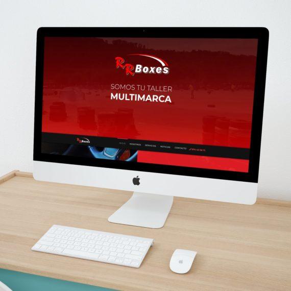 RRboxes taller multimarca Binefar escritorio